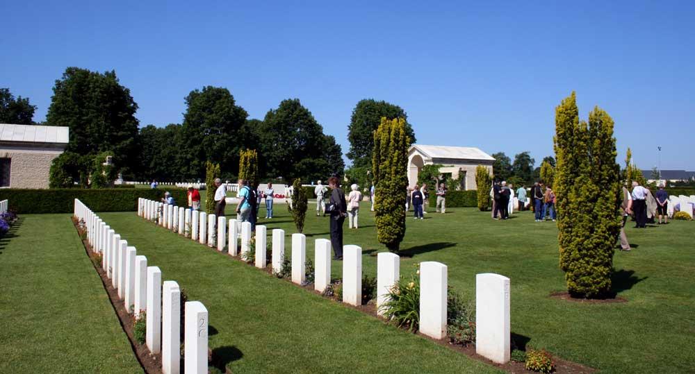 cimetière britannique de Bayeux wwII